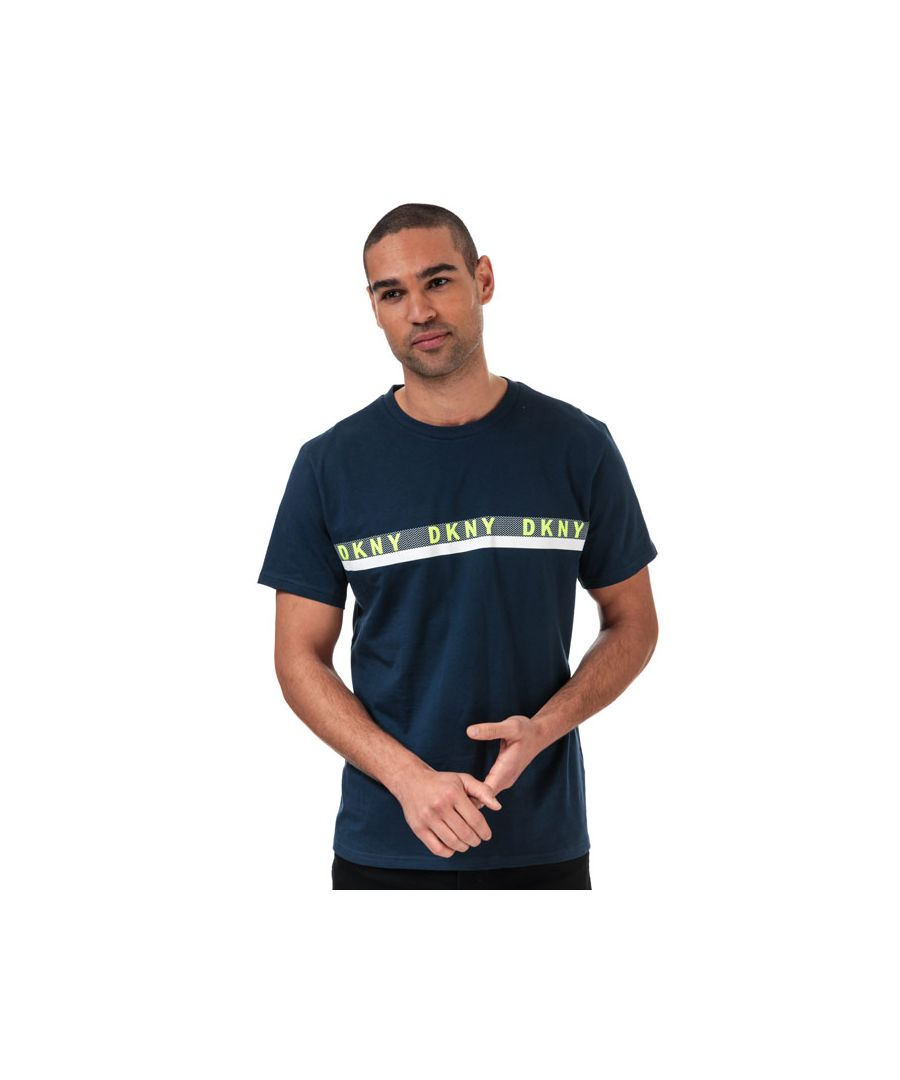 Image for Men's DKNY Raiders Lounge T-Shirts in Navy
