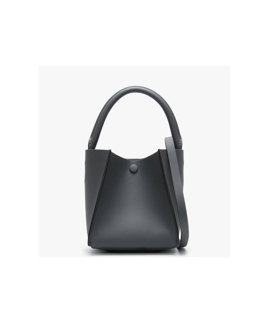 Image for Sophie Hulme Nano Cube Leather Shoulder Bag