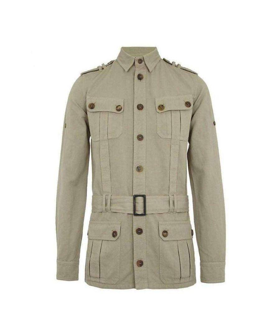 Image for Balmain Natural Safari Jacket