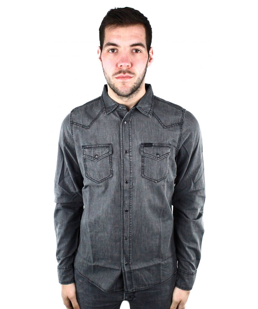 Image for Diesel New-Sonora-E 0WAIB 02 Casual Shirt