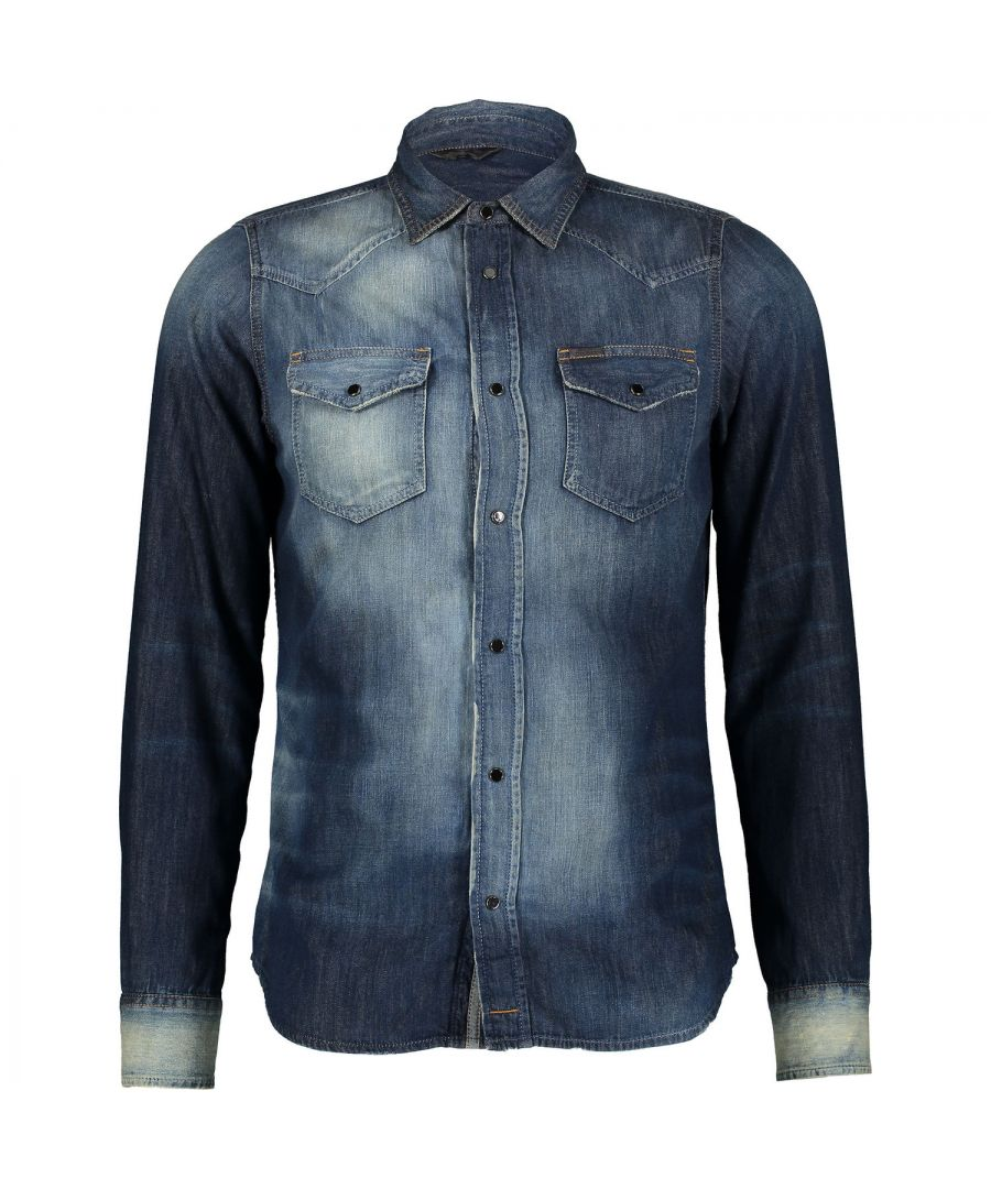 Image for Diesel New-Sonora 0667J 01 Casual Shirt