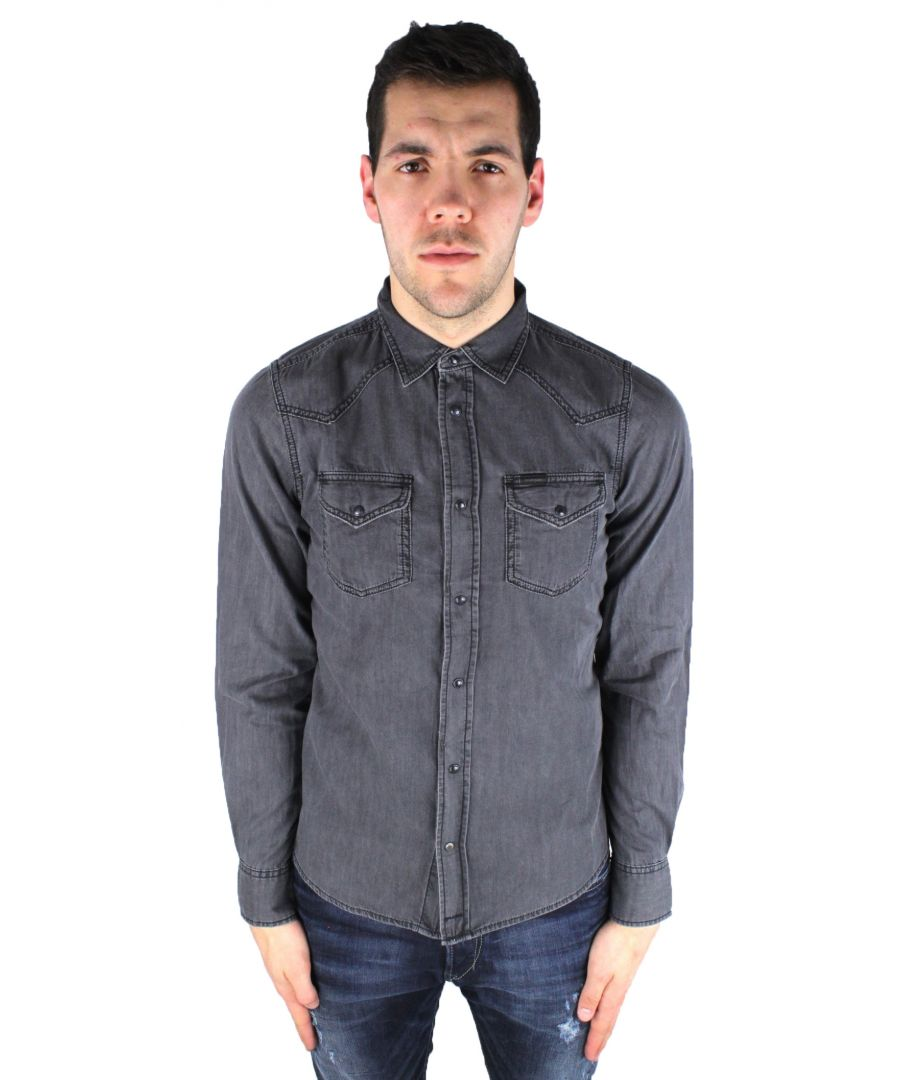 Image for Diesel New-Sonora 0TAJE 02 Denim Shirt