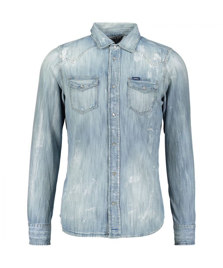 Image for Diesel New-Sonora 0664C 01 Casual Shirt