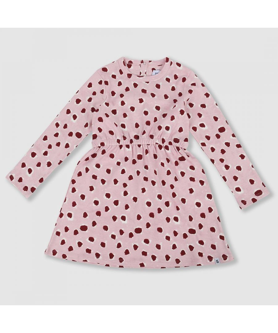 Image for Painted Dot Jersey Dress