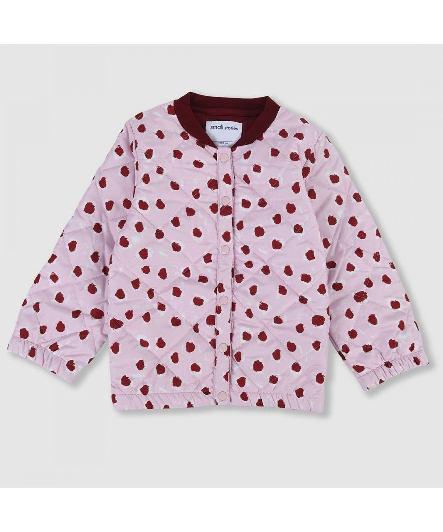 Image for Painted Dot Jacket Pink