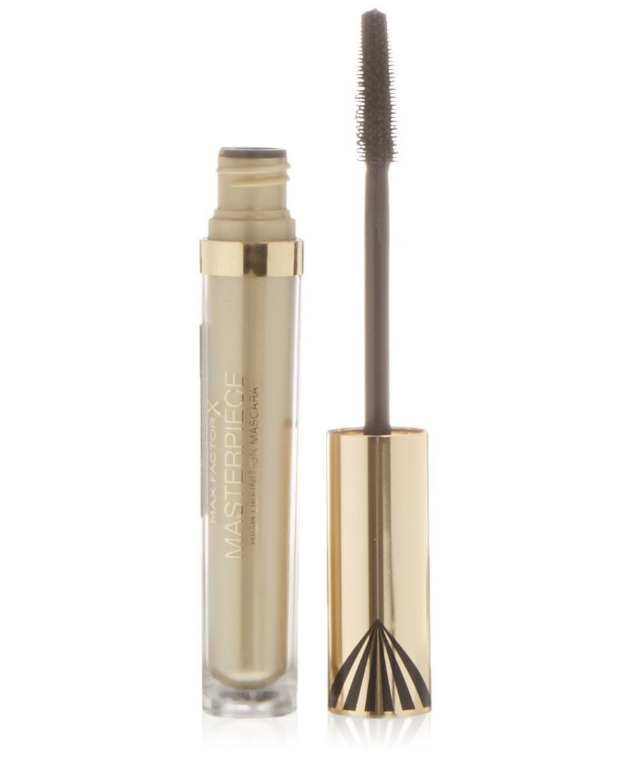 Image for Max Factor Masterpiece High Definition Mascara 4.5ml Gold Case - Rich Black