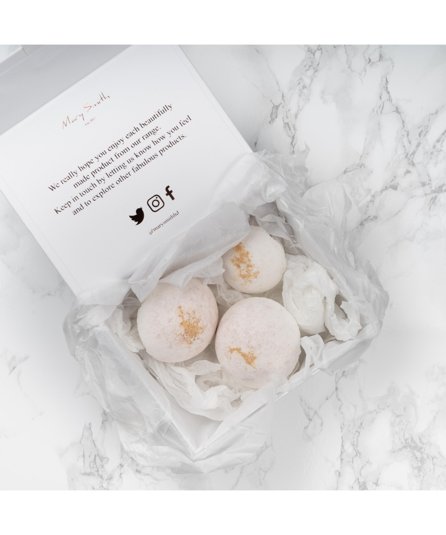 Image for 100% Natural Bath Bomb & Soap Set - Vanilla & Sandalwood