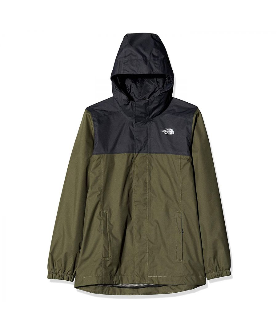 Image for The North Face Resolve Kids Jacket Green