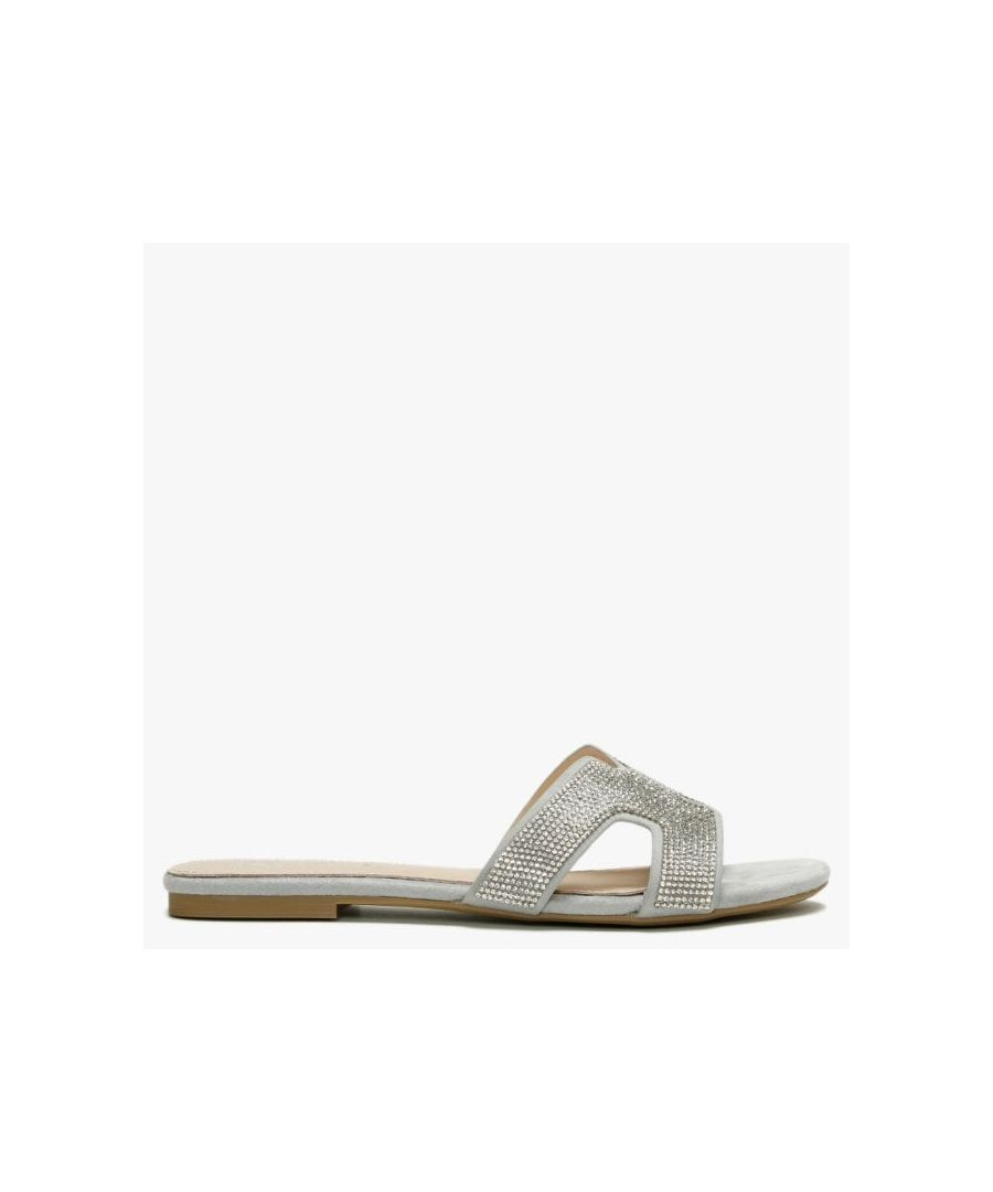 Image for DF By Daniel Ninia Diamante Flat Mules