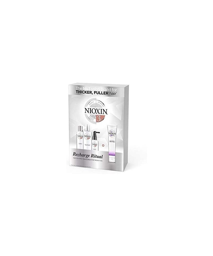 Image for Nioxin System 3 Recharge Rituals Limited Edition 4 Piece Set