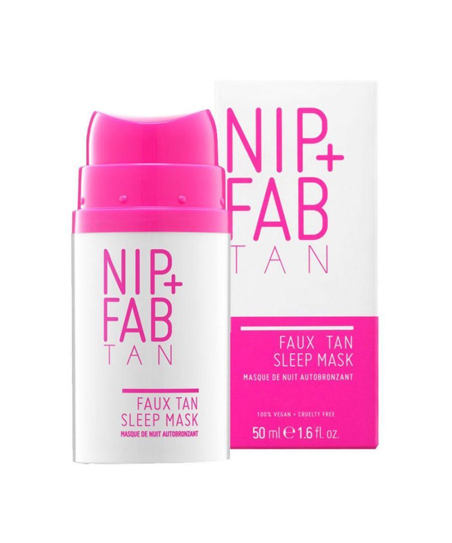 Image for NIP+FAB Faux Tan Sleep Mask 50ml