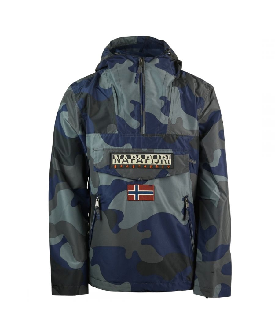 Image for Napapijri Rainforest S Print 1 Camo Jacket