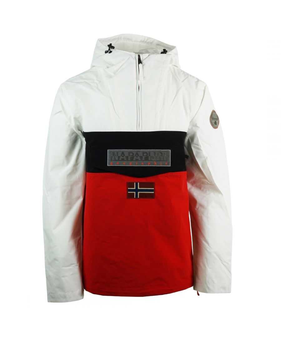 Image for Napapijri Rainforest S Block White Jacket