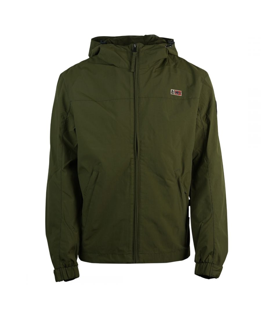 Image for Napapijri Shelter H 2 Green Jacket