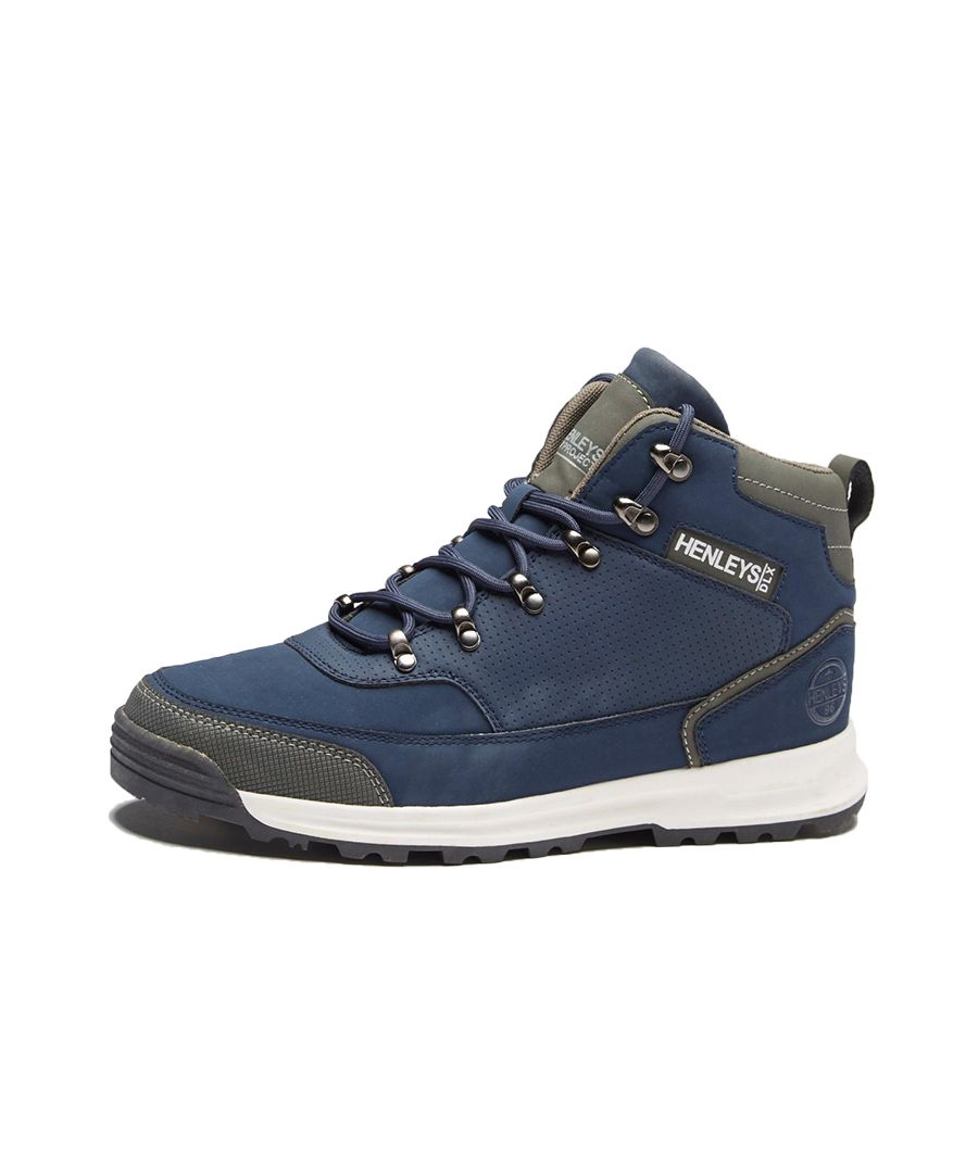Image for Men's Henleys Paler Walking Boots, Navy