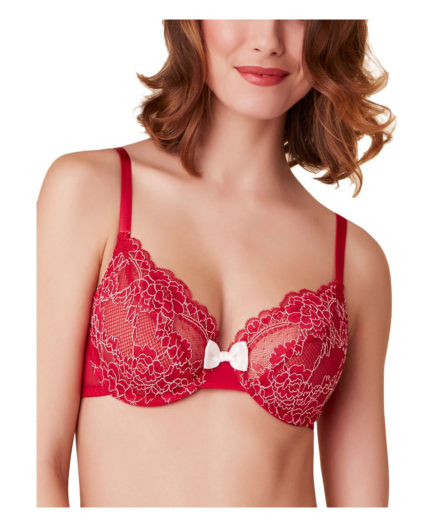 Image for Amoureuse Sheer Plunge Bra