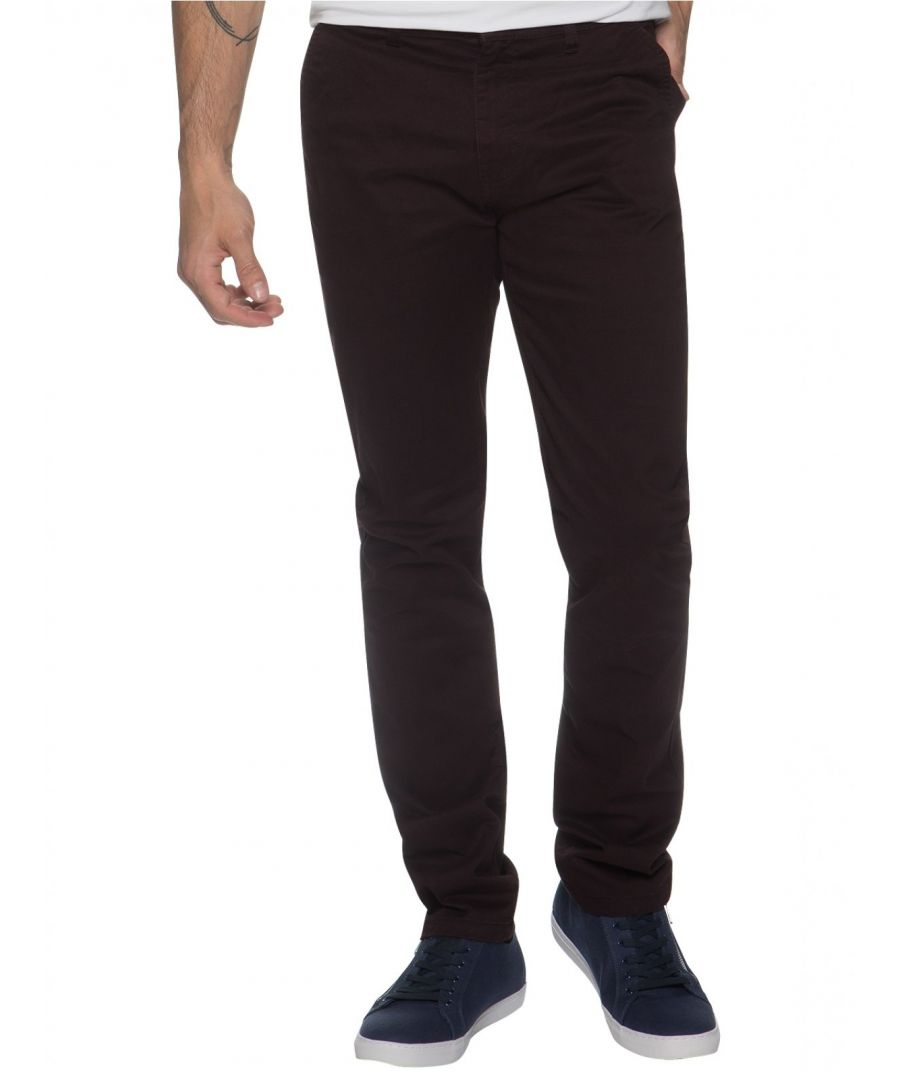Image for Enzo Men's Chinos Slim Fit Stretch Jeans