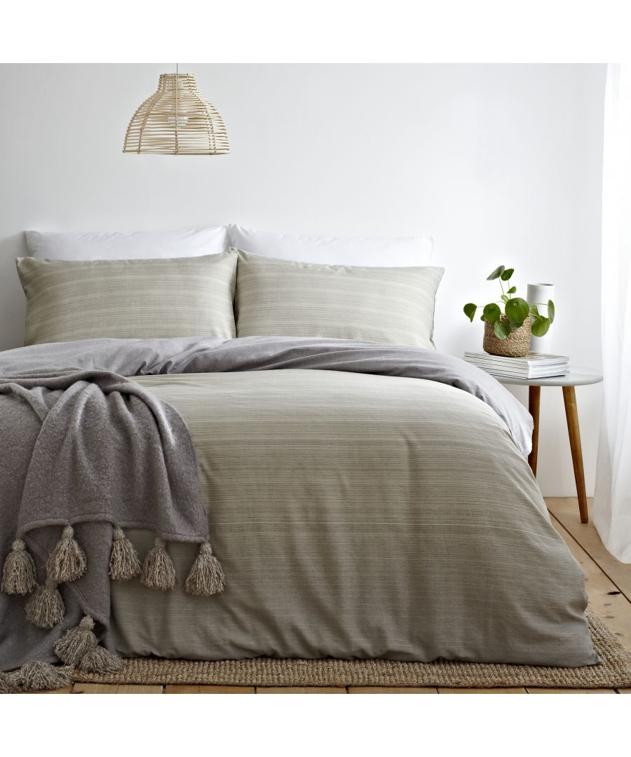 Image for Signature Ombre Duvet Set Natural