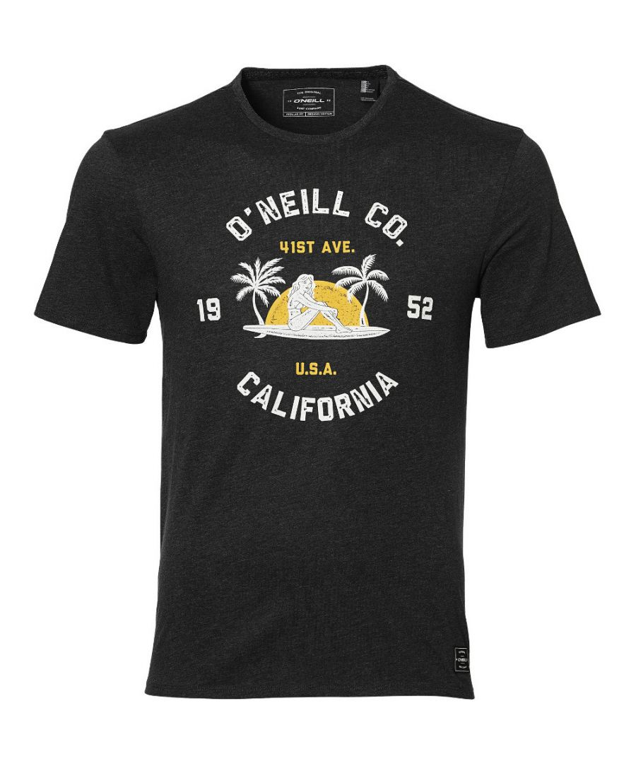 Image for O'Neill Mens LM Surf Co. Fifties Style Graphic Organic Jersey T-Shirt