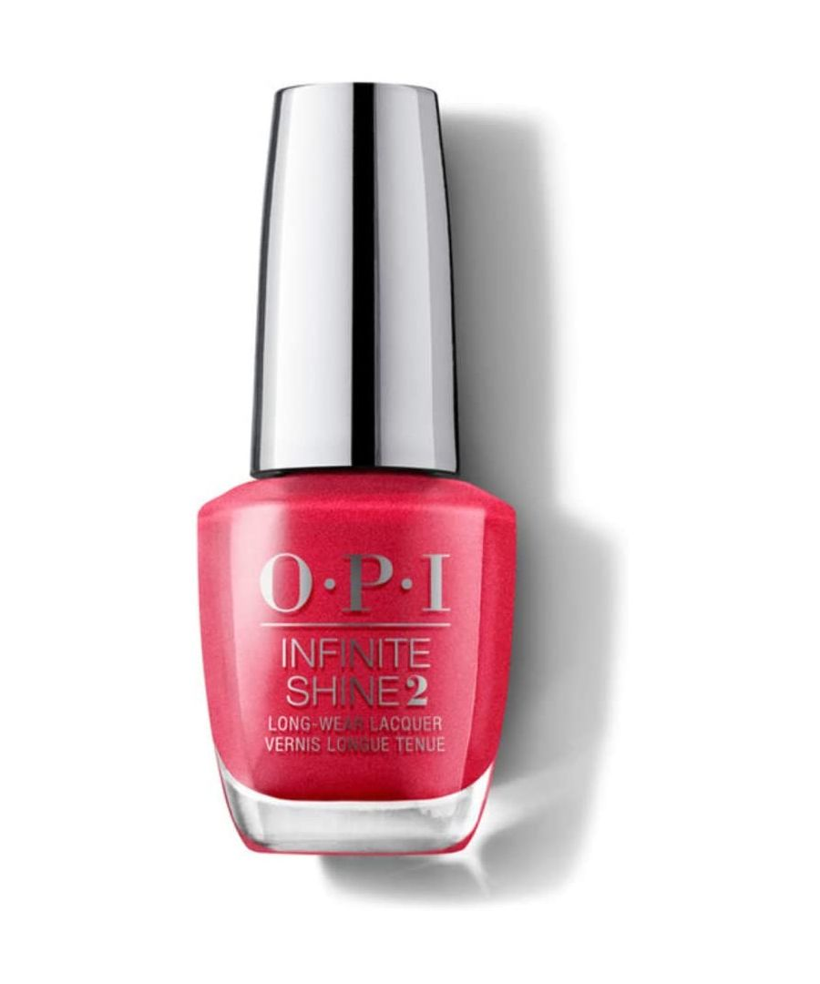 Image for OPI Infinite Shine2 Long-Wear Lacquer 15ml - Cha-Ching Cherry