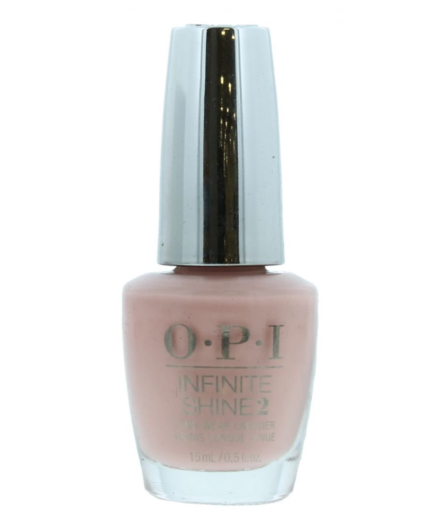 Image for OPI Infinite Shine2 Long-Wear Lacquer 15ml - Half Past Nude