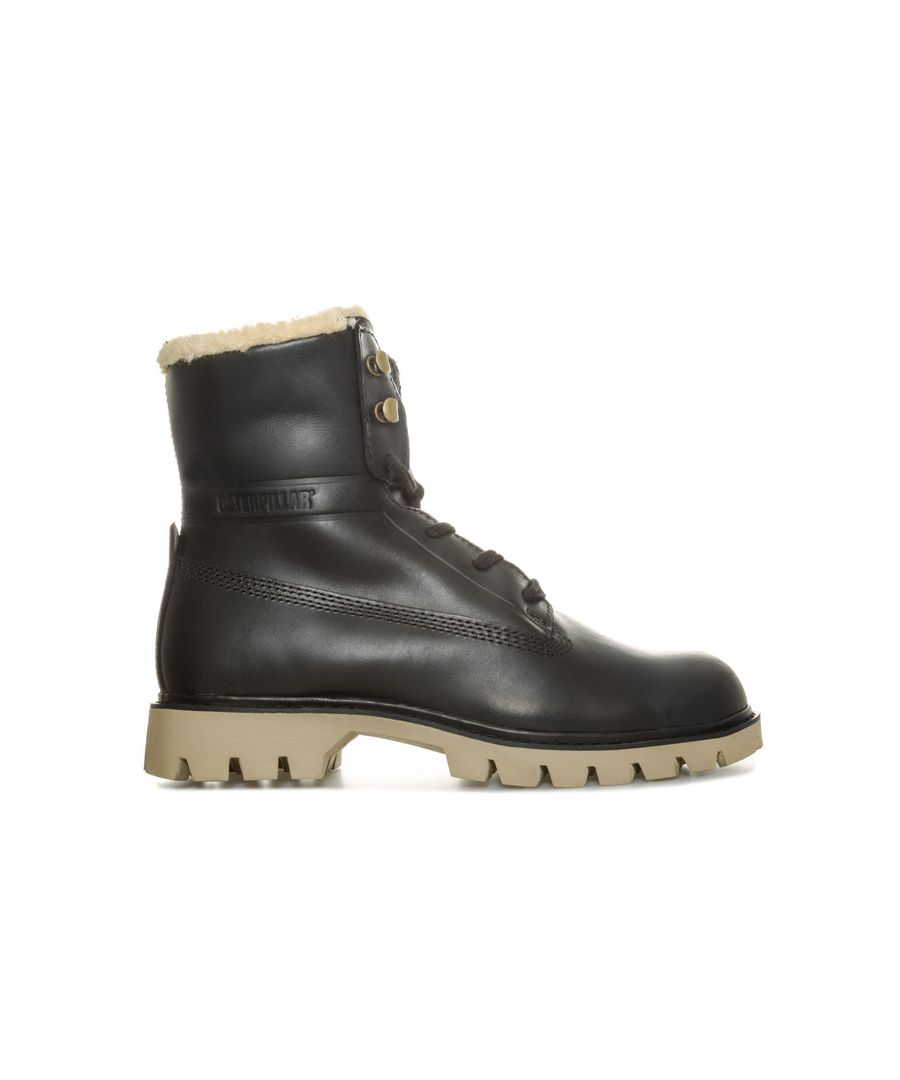Image for Women's Caterpillar Basis Fur Boots in Black