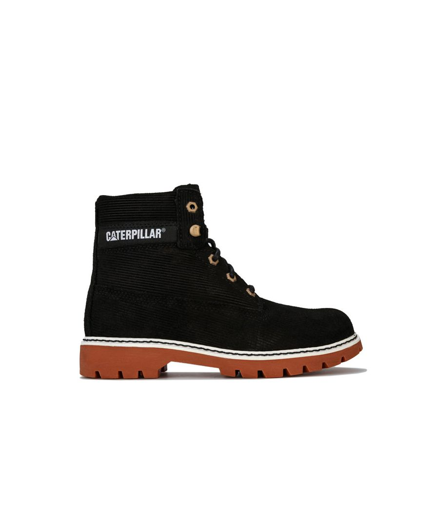 Image for Women's Caterpillar Lyric Corduroy Boots in Black