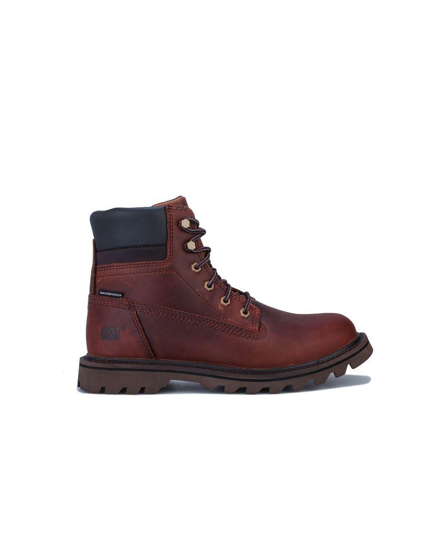 Image for Men's Caterpillar Deplete Waterproof Boots in Brown