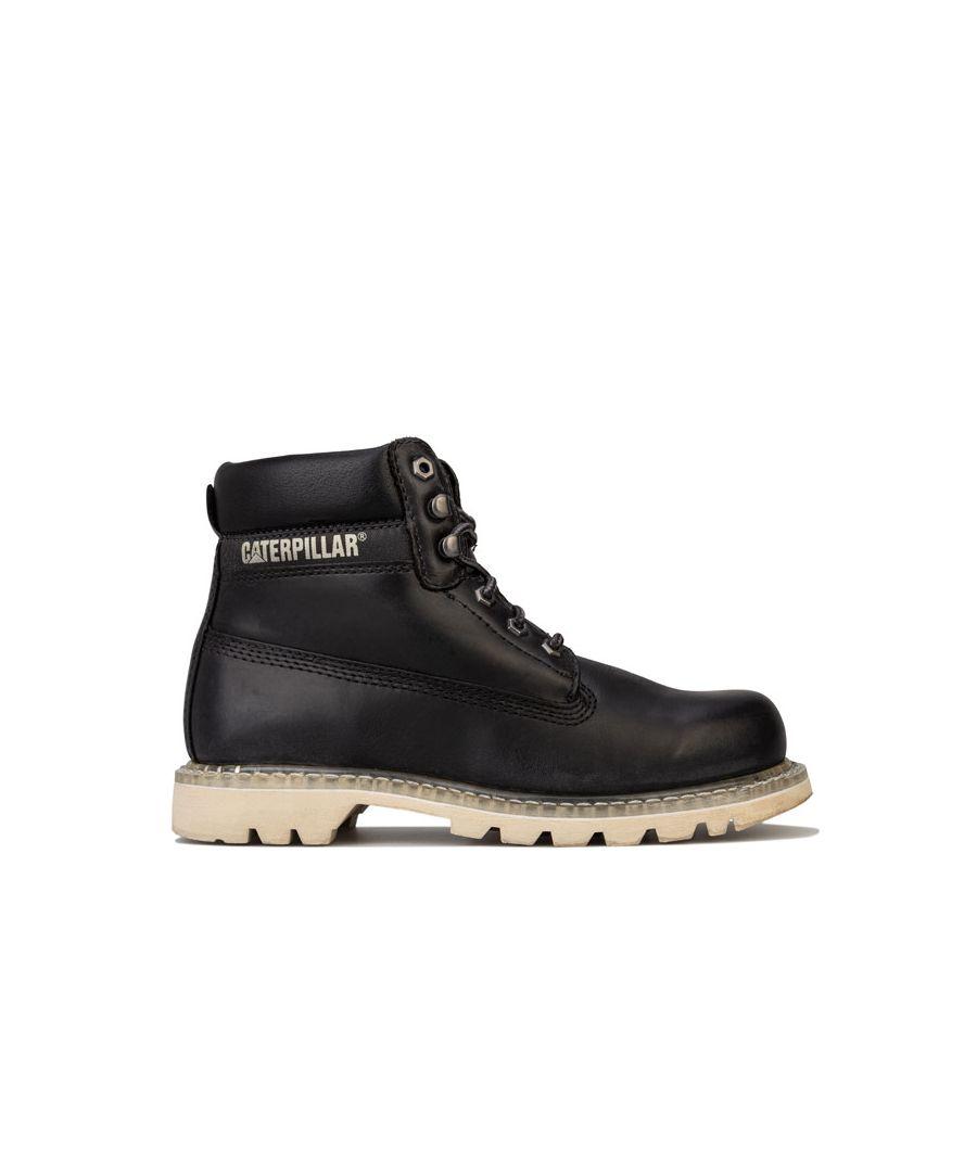 Image for Men's Caterpillar Colorado Full Grain Boots in Black