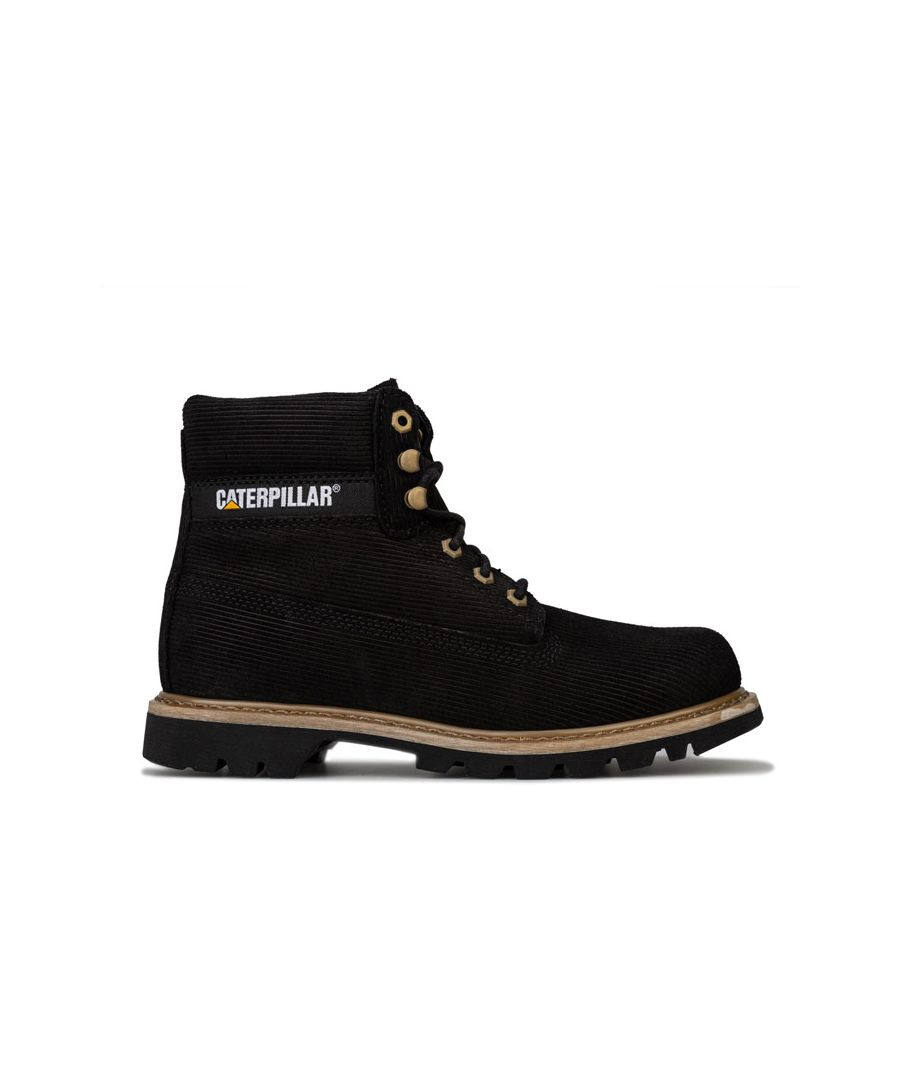 Image for Men's Caterpillar Colorado Corduroy Boots in Black