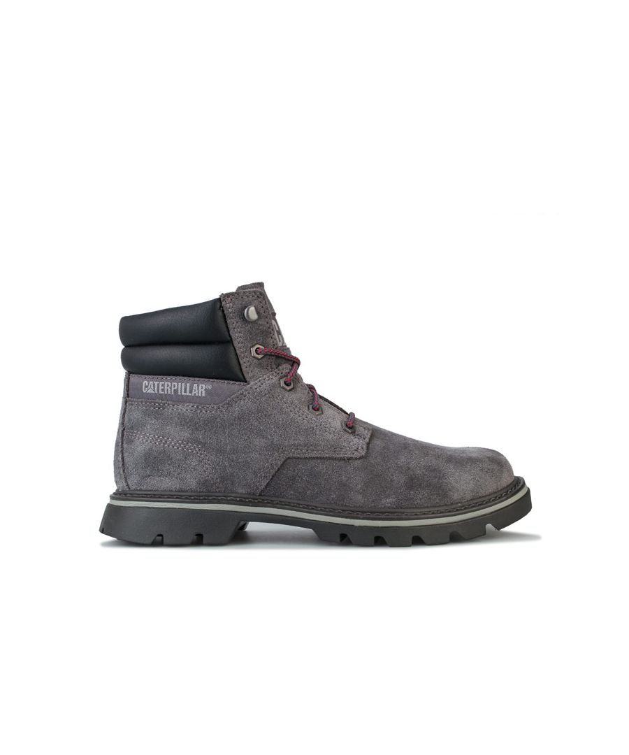 Image for Men's Caterpillar Quadrate Boots in Grey