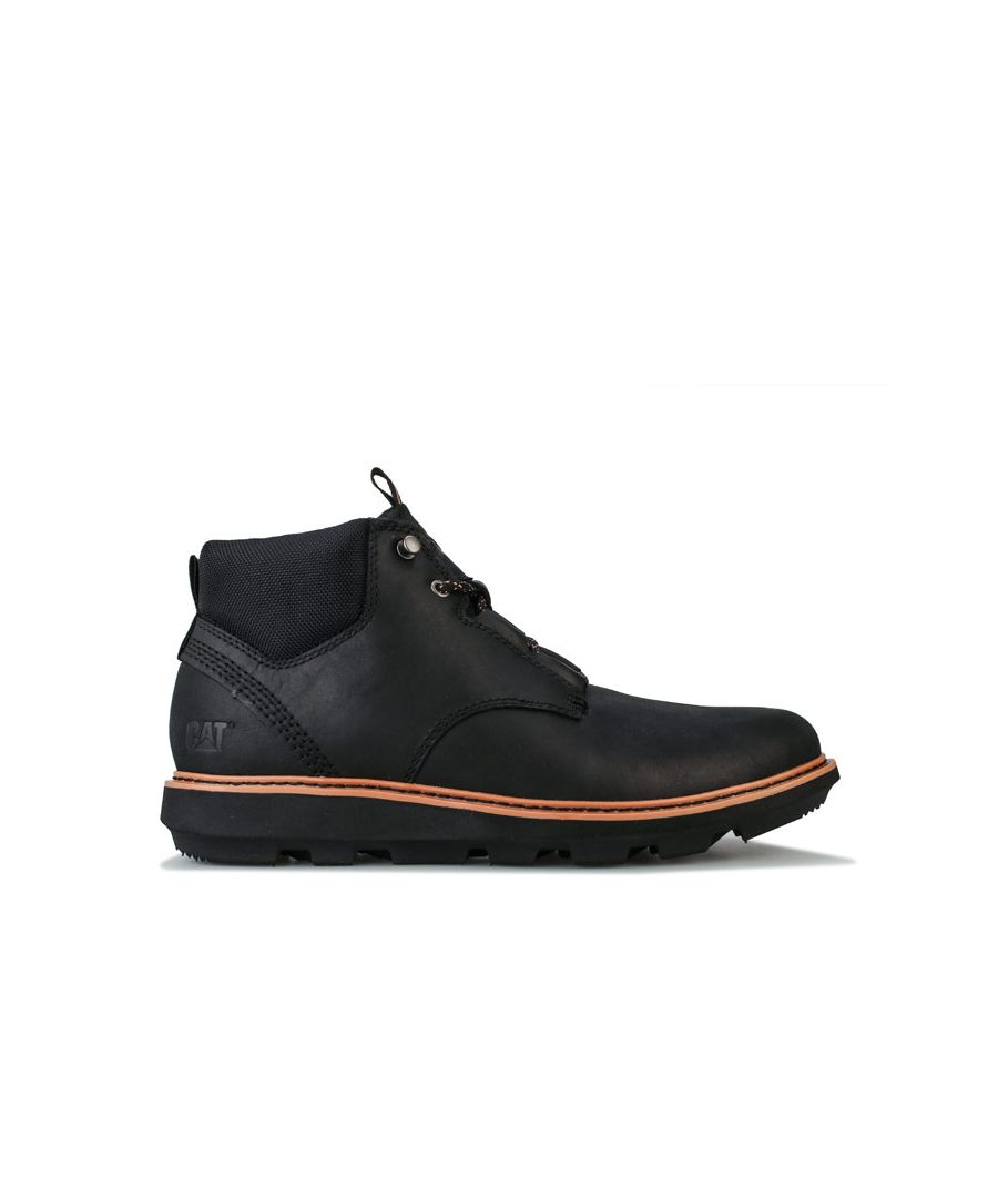 Image for Men's Caterpillar Brusk Lace Boot in Black