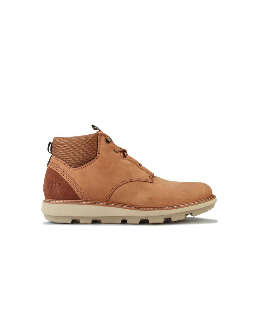 Image for Men's Caterpillar Brusk Lace Boot in Tan