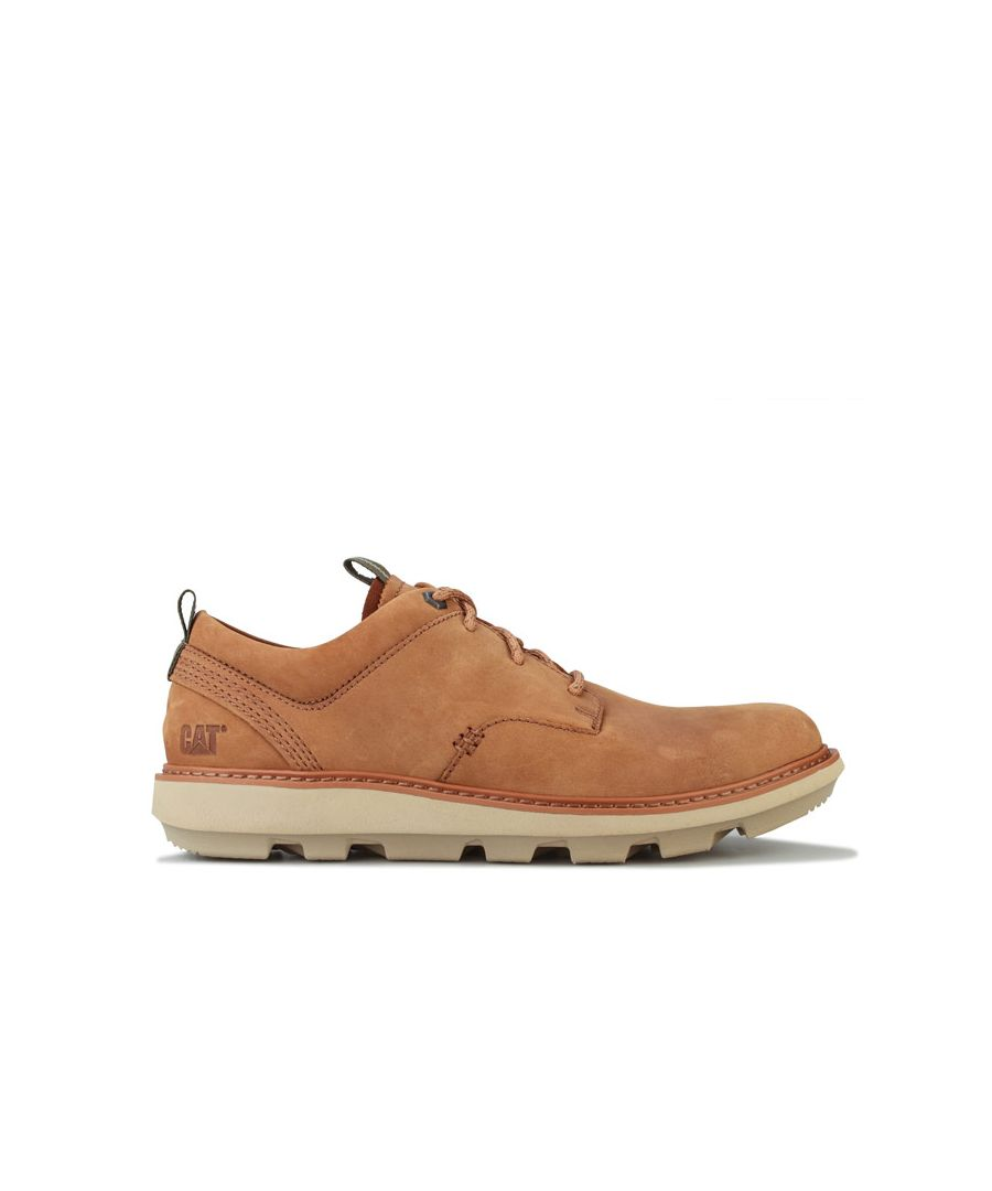 Image for Men's Caterpillar Brusk Lace Shoe in Tan