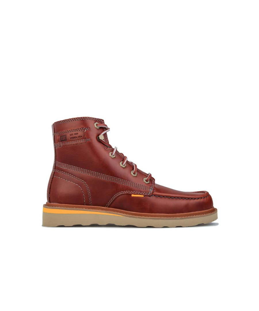 Image for Men's Caterpillar Jackson Moc Boots in Brown