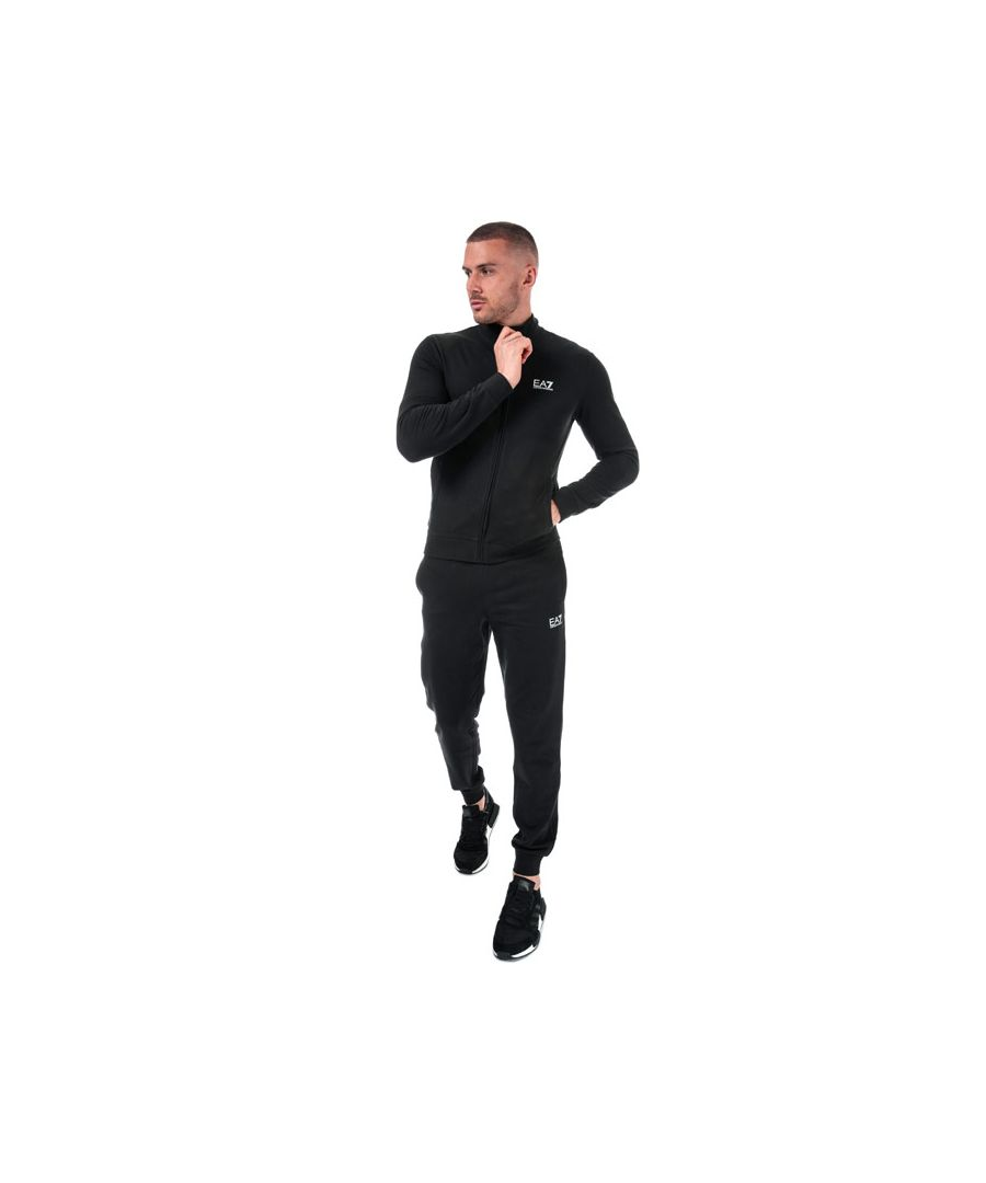 Image for Men's Emporio Armani EA7 Tracksuit in Black
