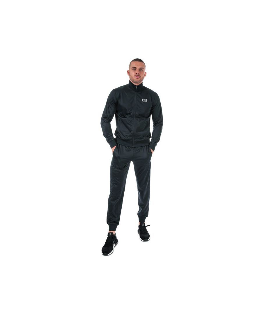 Image for Men's Emporio Armani EA7 Tracksuit in Navy