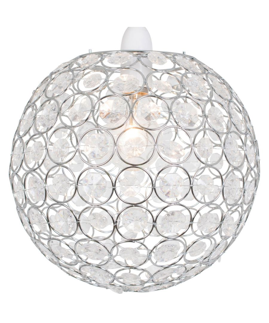 Image for Ball 24cm Pendant Ceiling Shade