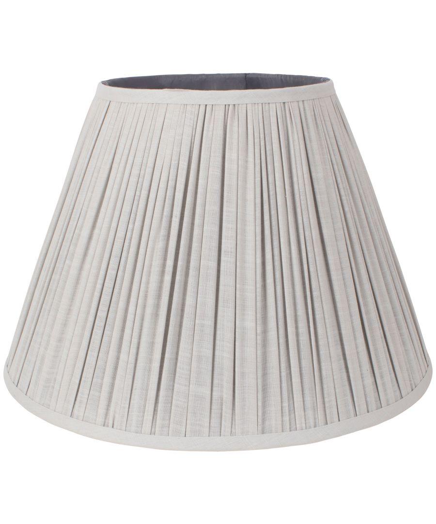 Image for Mushroom 41cm Pleat Shade