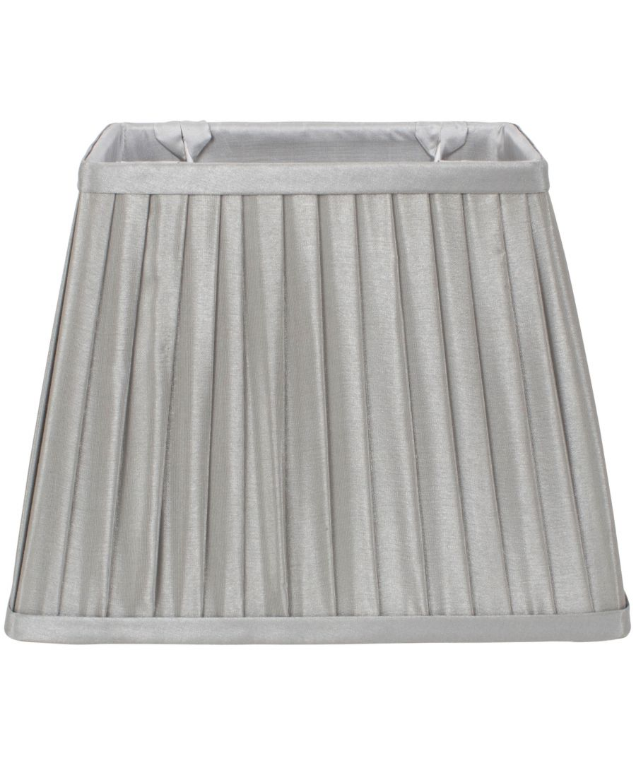 Image for Knife Pleat 28cm Shade Grey