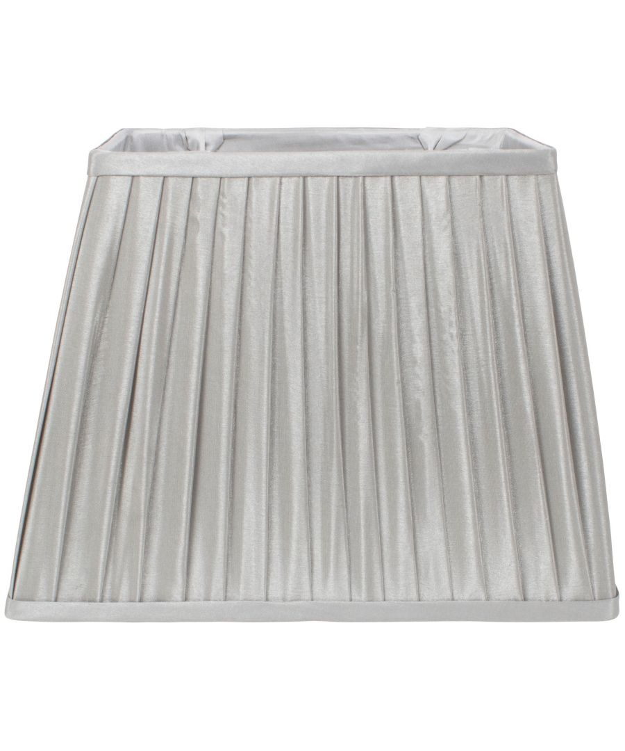 Image for Knife Pleat 35cm Shade Grey