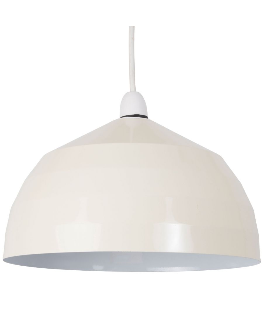 Image for Gabriel Pendant Light Shade Cream