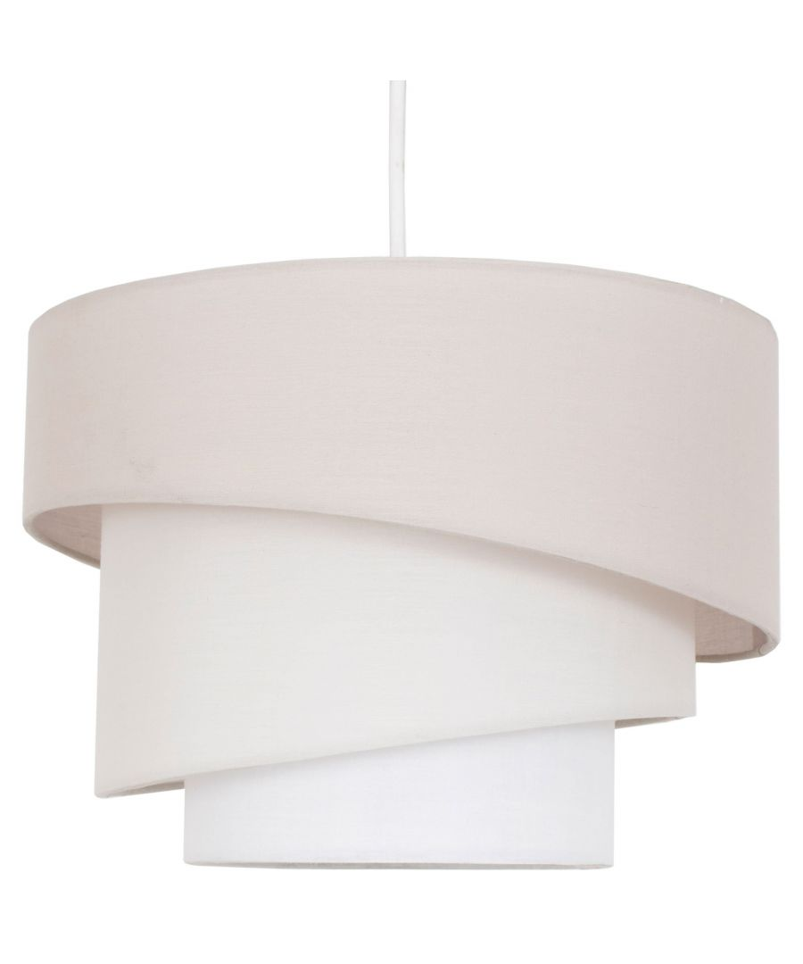 Image for Jack 3 Tier Pendant Light Shade Natural