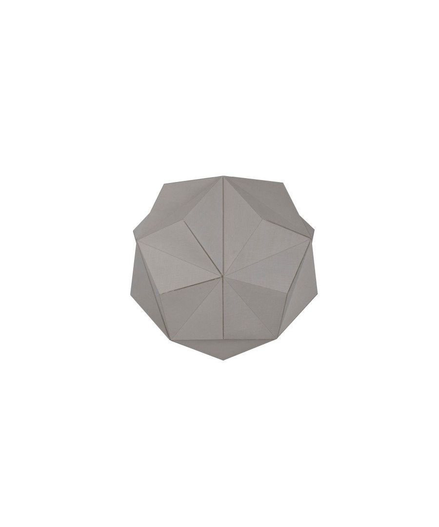 Image for Duggan Grey Geometric Pendant Ceiling Light Shade