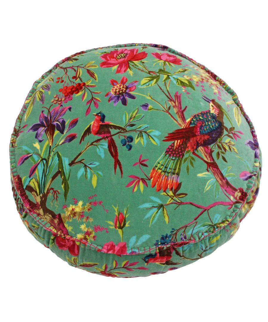 Image for Paradise 50X12 Rd PCushion Aqua