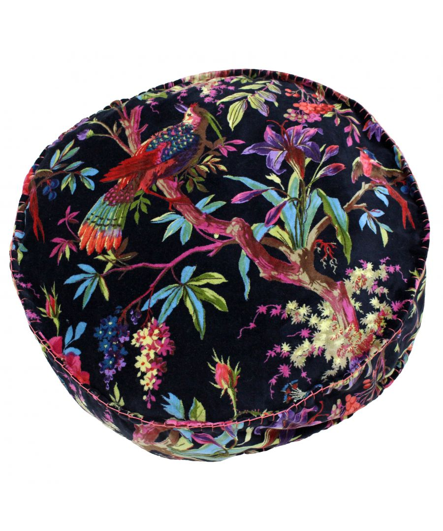 Image for Paradise 50X12 Rd PCushion Black