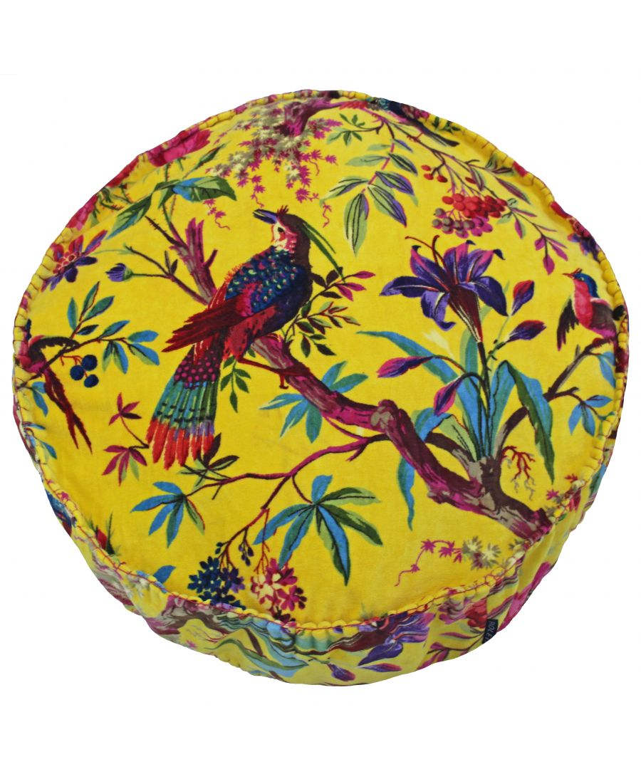 Image for Paradise 50X12 Rd PCushion Yellow