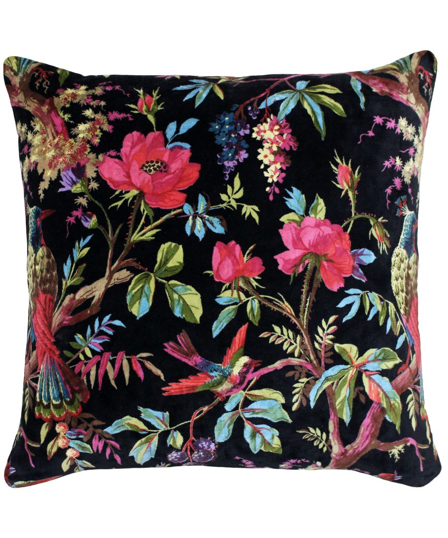 Image for Paradise 50X50 Poly Cushion Black