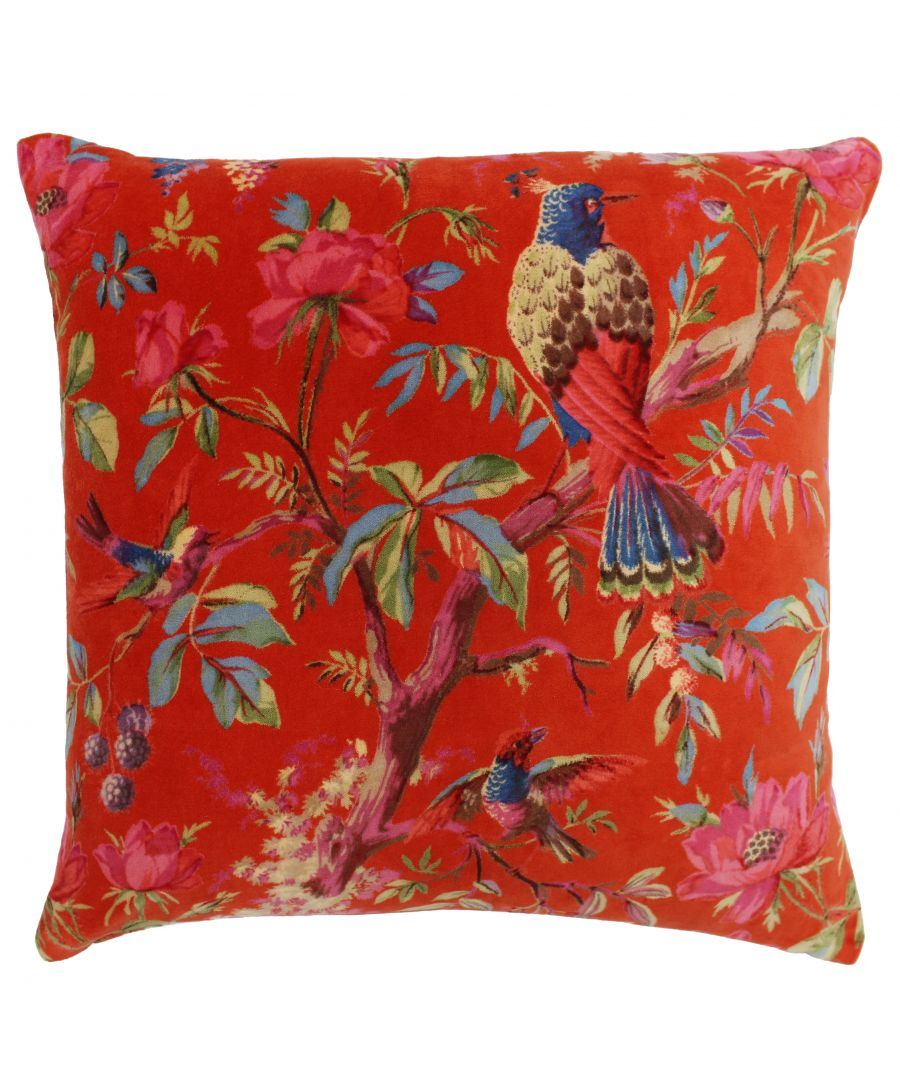 Image for Paradise 50X50 Poly Cushion Orange