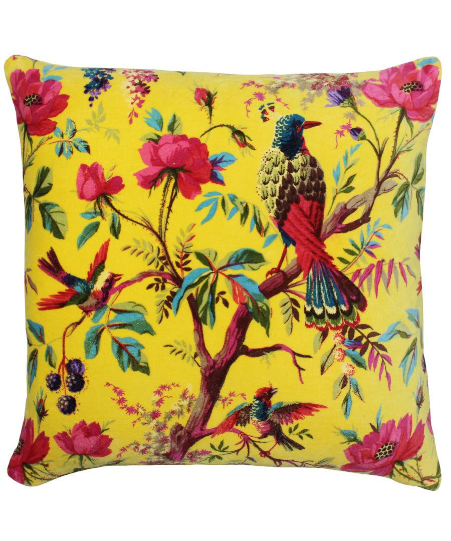 Image for Paradise 50X50 Poly Cushion Yellow